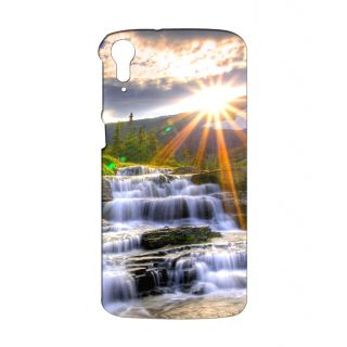Instyler Digital Printed 3D Back Cover For HTC 828