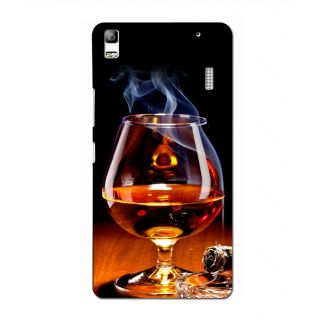Instyler Digital Printed 3D Back Cover For Lenovo A7000