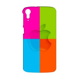 Instyler Digital Printed 3D Back Cover For HTC 828
