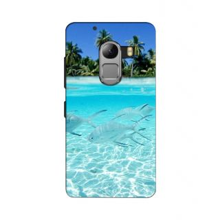 Instyler Digital Printed 3D Back Cover For Lenovo A7010