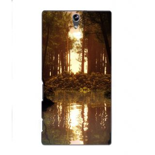 Instyler Digital Printed 3D Back Cover For Sony Xperia C5