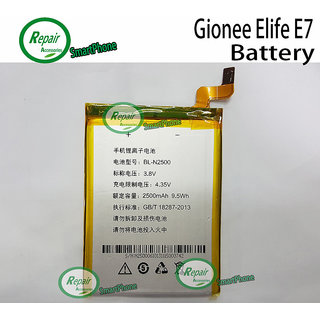100 Percent Original BL-N2500 Battery For Gionee E7 2500 mAh Battery for Gionee Elife E7.