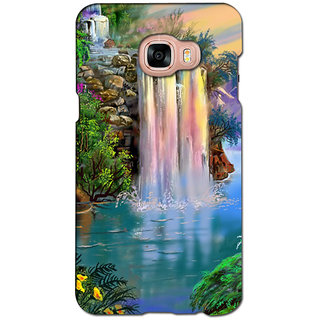instyler PREMIUM DIGITAL PRINTED 3D BACK COVER FOR SAMSUNG GALAXY C5 3DSGC5DS-10871