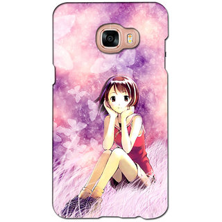 instyler PREMIUM DIGITAL PRINTED 3D BACK COVER FOR SAMSUNG GALAXY C7 3DSGC7DS-10735