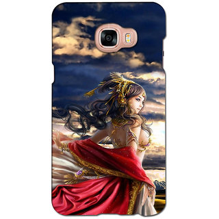 instyler PREMIUM DIGITAL PRINTED 3D BACK COVER FOR SAMSUNG GALAXY C5 3DSGC5DS-10949