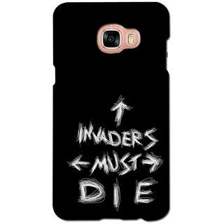 instyler PREMIUM DIGITAL PRINTED 3D BACK COVER FOR SAMSUNG GALAXY C7 3DSGC7DS-10486