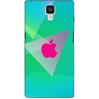 instyler PREMIUM DIGITAL PRINTED 3D BACK COVER FOR ONE PLUS 3 3D1PLUS3DS-10586