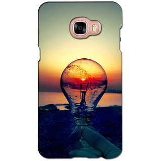 instyler PREMIUM DIGITAL PRINTED 3D BACK COVER FOR SAMSUNG GALAXY C5 3DSGC5DS-10575