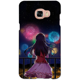 instyler PREMIUM DIGITAL PRINTED 3D BACK COVER FOR SAMSUNG GALAXY C5 3DSGC5DS-10603