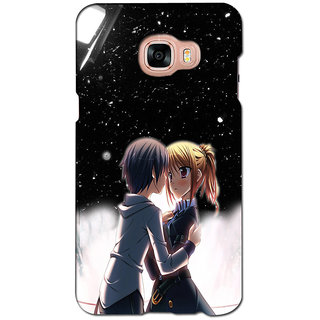 instyler PREMIUM DIGITAL PRINTED 3D BACK COVER FOR SAMSUNG GALAXY C7 3DSGC7DS-10791
