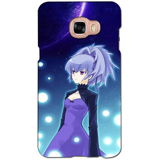 instyler PREMIUM DIGITAL PRINTED 3D BACK COVER FOR SAMSUNG GALAXY C7 3DSGC7DS-10132