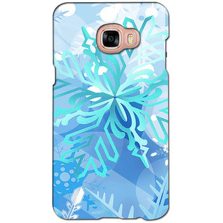 instyler PREMIUM DIGITAL PRINTED 3D BACK COVER FOR SAMSUNG GALAXY C7 3DSGC7DS-10142