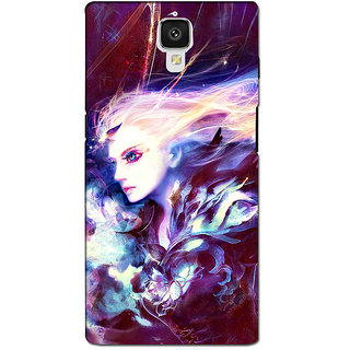 instyler PREMIUM DIGITAL PRINTED 3D BACK COVER FOR ONE PLUS 3 3D1PLUS3DS-11027