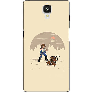 instyler PREMIUM DIGITAL PRINTED 3D BACK COVER FOR ONE PLUS 3 3D1PLUS3DS-10781