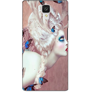 instyler PREMIUM DIGITAL PRINTED 3D BACK COVER FOR ONE PLUS 3 3D1PLUS3DS-11044