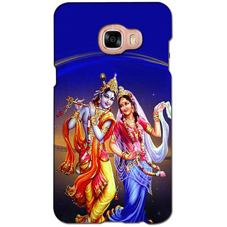 instyler PREMIUM DIGITAL PRINTED 3D BACK COVER FOR SAMSUNG GALAXY C7 3DSGC7DS-10925