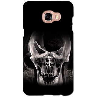 instyler PREMIUM DIGITAL PRINTED 3D BACK COVER FOR SAMSUNG GALAXY C7 3DSGC7DS-10362