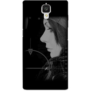 instyler PREMIUM DIGITAL PRINTED 3D BACK COVER FOR ONE PLUS 3 3D1PLUS3DS-10542