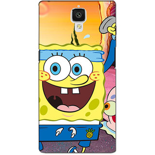 instyler PREMIUM DIGITAL PRINTED 3D BACK COVER FOR ONE PLUS 3 3D1PLUS3DS-10221
