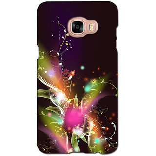 instyler PREMIUM DIGITAL PRINTED 3D BACK COVER FOR SAMSUNG GALAXY C7 3DSGC7DS-10432