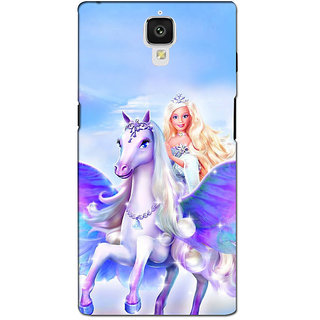 instyler PREMIUM DIGITAL PRINTED 3D BACK COVER FOR ONE PLUS 3 3D1PLUS3DS-10926
