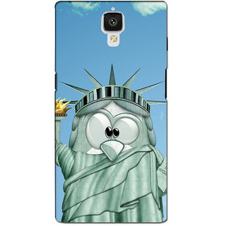 instyler PREMIUM DIGITAL PRINTED 3D BACK COVER FOR ONE PLUS 3 3D1PLUS3DS-10318