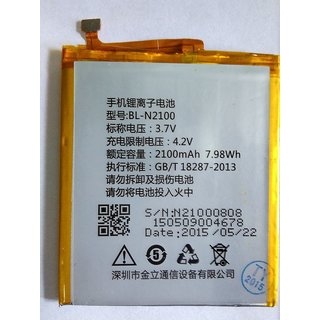 100 Percent Original BL-N2100 Battery For Gionee GN706l BL-N2100 Battery With 2100mAh.