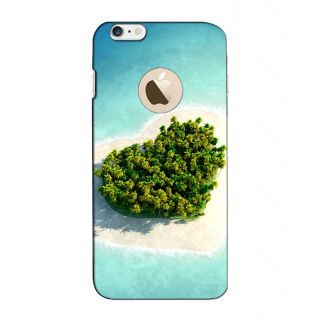 Instyler Digital Printed 3D Back Cover For Apple I Phone 6S Logo
