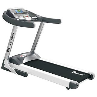 Powermax Fitness Tda - 530 Motorized Treadmill With Hrc Healing Function