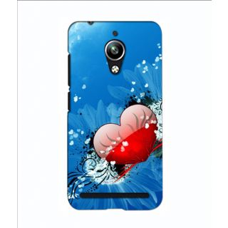 Instyler Digital Printed 3D Back Cover For Asus Zen Fone Go