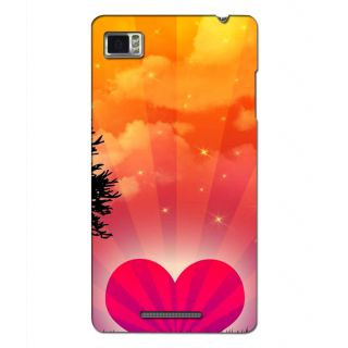 Instyler Digital Printed 3D Back Cover For Lenovo Vibe Z K910