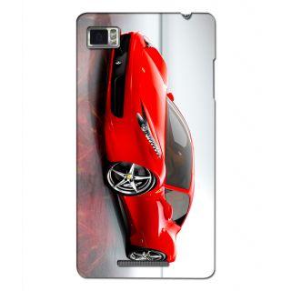 Instyler Digital Printed 3D Back Cover For Lenovo Vibe Z K910