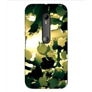 Instyler Digital Printed 3D Back Cover For Moto G3
