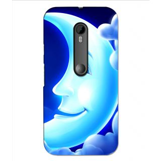 Instyler Digital Printed 3D Back Cover For Moto G3