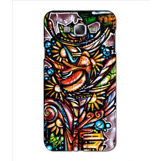Instyler Digital Printed 3D Back Cover For Samsung Galaxy A8