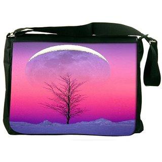 Snoogg Sky View 15 Designer Laptop Messenger Bag