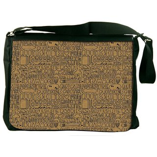 Snoogg Abstract Designer Laptop Messenger Bag