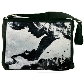 Snoogg Paint Art Designer Laptop Messenger Bag
