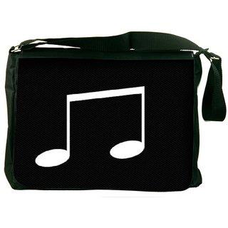 Snoogg Music Minimal Designer Laptop Messenger Bag