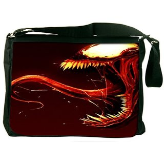 Snoogg Monster Designer Laptop Messenger Bag