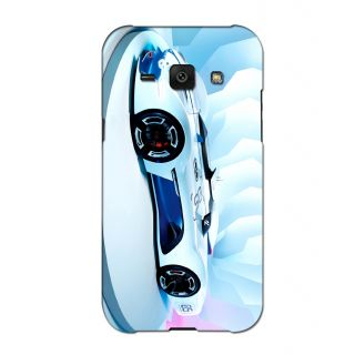 Instyler Digital Printed 3D Back Cover For Samsung Galaxy J1