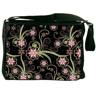 Snoogg Abstract Pattern Background Designer Laptop Messenger Bag