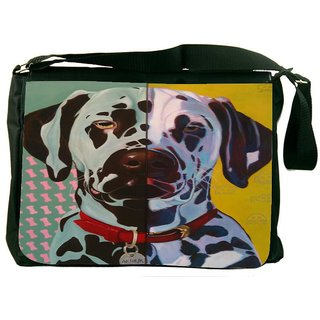 Snoogg Digital Dog DesignerLaptop Messenger Bag