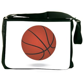 Snoogg Basketball Designer Laptop Messenger Bag