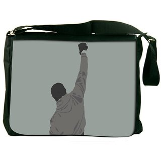 Snoogg ArtMinimalist Digitally Printed Laptop Messenger  Bag