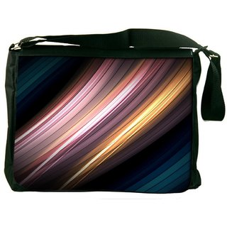 Snoogg Abstract Creamy Pathway Digitally Printed Laptop Messenger  Bag