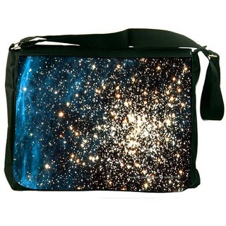 Snoogg Plenty Of Stars Digitally Printed Laptop Messenger  Bag