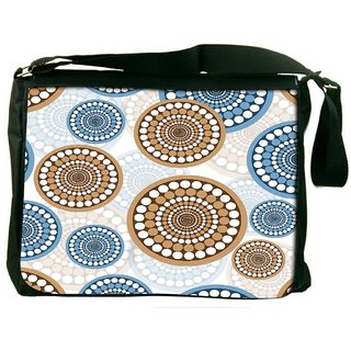 Snoogg Colorful Love Digitally Printed Laptop Messenger  Bag