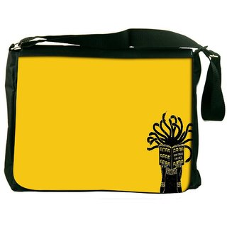 Snoogg Medusa Digitally Printed Laptop Messenger  Bag
