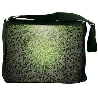 Snoogg Small Grass Design Digitally Printed Laptop Messenger  Bag